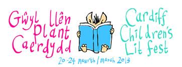 Cardiff Children's Lit Fest 2013 logo