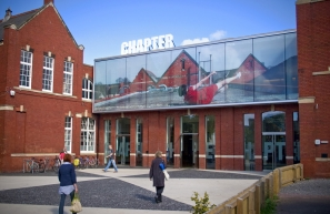 Chapter Arts Centre on Wikipedia Commons