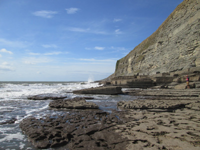 Southerndown Beach - picture by Marion Hirtzig