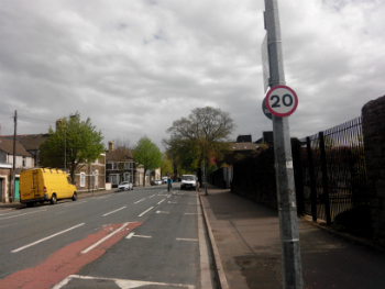 Cardiff's new 20mph speed limit