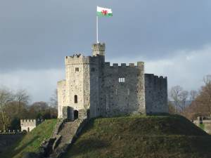 Cardiff Castle by Michel, via Flickr