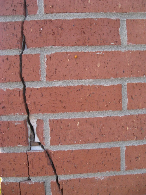 Are there cracks in the walls? Picture by shaireproductions on Flickr