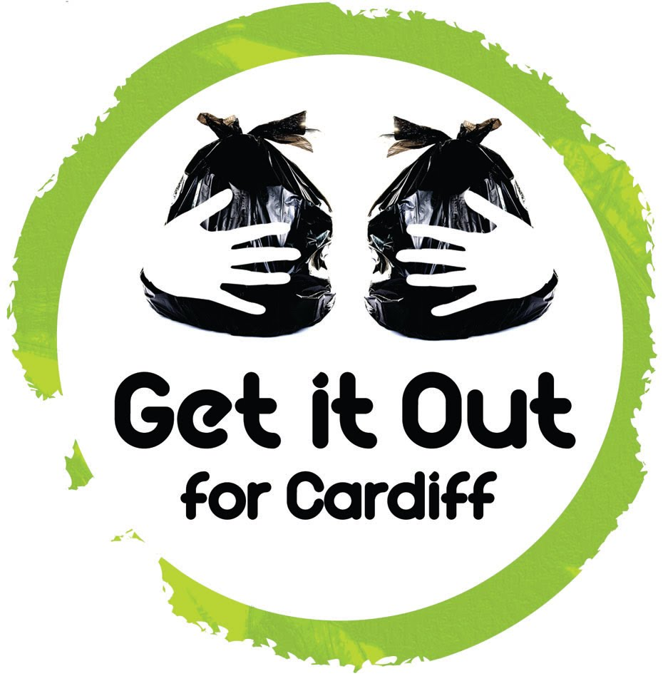 Get it Out For Cardiff logo