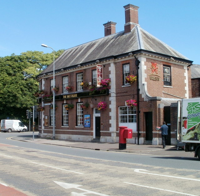 The Westgate pub in Canton, Cardiff. Picture copyright jaggery and licensed for refuse under this creative commons licence